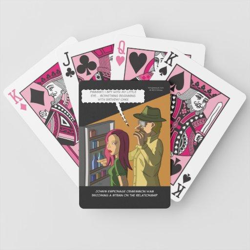 Cake Designs Playing Cards : I Spy Birthday Cake Playing Cards Zazzle