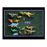 I spy Dino! Post Cards