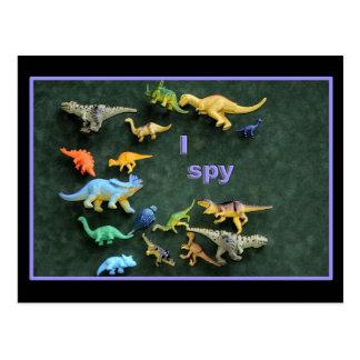I spy Dino Post Cards