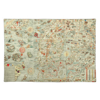"""""""I Spy"""" Kids Fun Map Placement Cloth Placemat"""