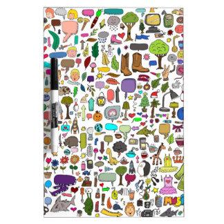 I spy with my little eye Dry-Erase board