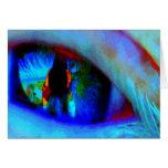i spy with my little eye greeting card