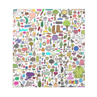 I spy with my little eye memo note pad