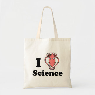 I Squid Science Budget Tote Bag