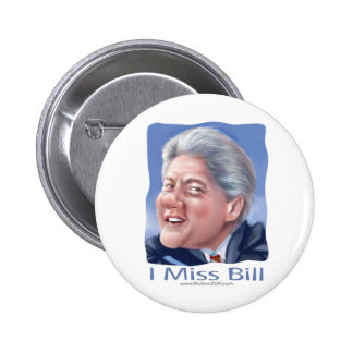 I Srta. Bill Button Pin Redondo 5 Cm