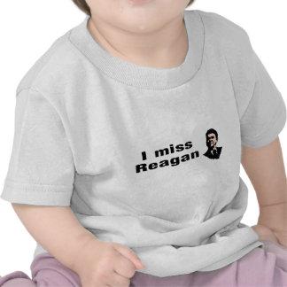 I Srta. Reagan Camisetas
