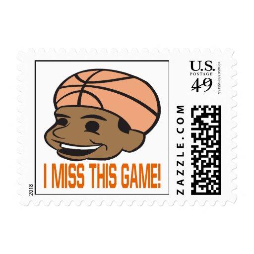 I Srta. This Game Timbre Postal