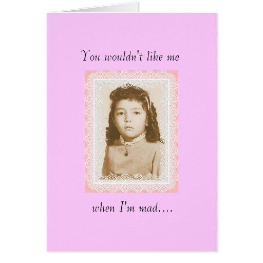 I Srta. You Card Tarjetas