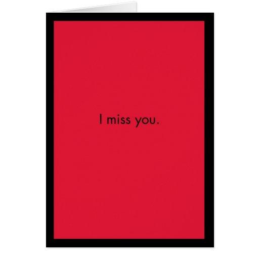 I Srta. You Card Tarjetón