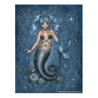 I Srta You Mermaid Postcard Tarjetas Postales