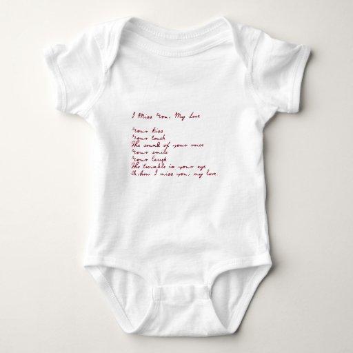 I Srta. You, mi poema del amor Tshirt
