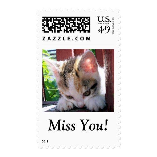 I Srta. You Stamp Estampilla