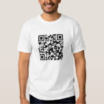 I Stalk You On Facebook QR Code Without Text Shirt