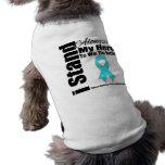 I Stand Alongside My Hero Addiction Recovery Dog Tee