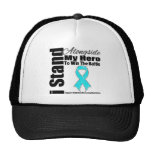 I Stand Alongside My Hero Addiction Recovery Hat