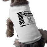 I Stand Alongside My Hero Diabetes Dog T Shirt