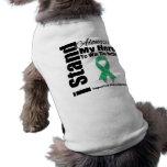 I Stand Alongside My Hero Liver Disease Doggie Shirt