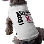 I Stand Alongside My Hero Sickle Cell Anemia Dog Shirt