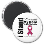 I Stand Alongside My Hero Sickle Cell Anemia Magnet