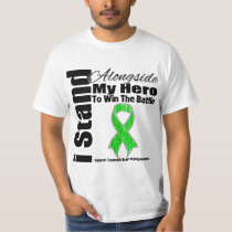 I Stand Alongside My Hero Traumatic Brain Injury Tee Shirt