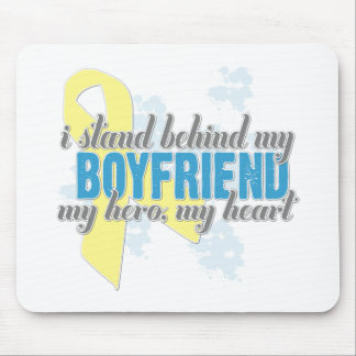 i stand behind my boyfriend mouse pad