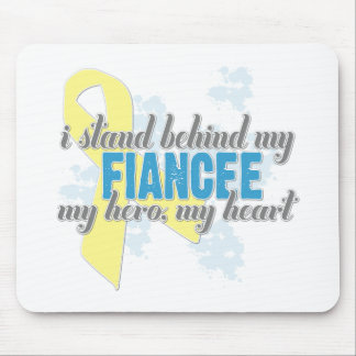 i stand behind my fiancee mouse pad