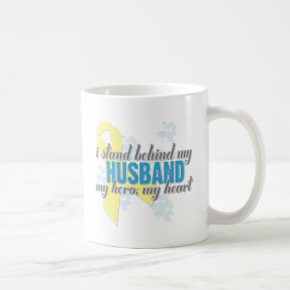 i stand behind my husband coffee mug