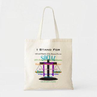 I Stand For (cross balance) Tote Bag