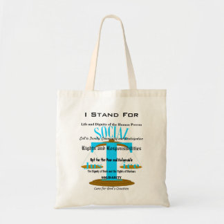 I Stand For Tote Bag