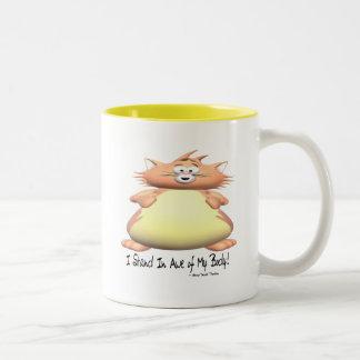 I Stand In Awe Two-Tone Coffee Mug