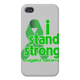 I Stand Strong Against Bile Duct Cancer Covers For iPhone 4