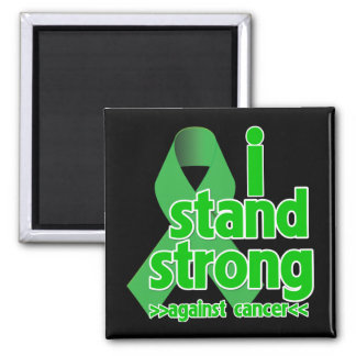I Stand Strong Against Bile Duct Cancer Refrigerator Magnets