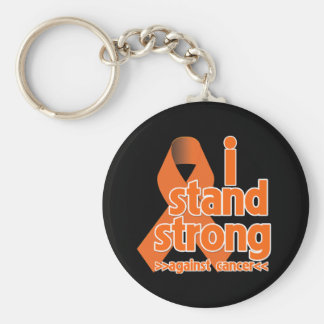 I Stand Strong Against Leukemia Cancer Key Chains