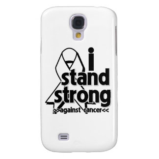 I Stand Strong Against Lung Cancer Galaxy S4 Cases