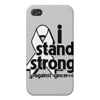 I Stand Strong Against Lung Cancer iPhone 4 Cover