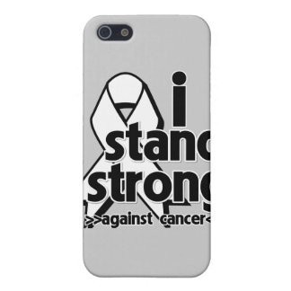 I Stand Strong Against Lung Cancer iPhone 5 Cover