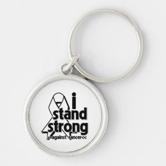 I Stand Strong Against Lung Cancer Key Chains