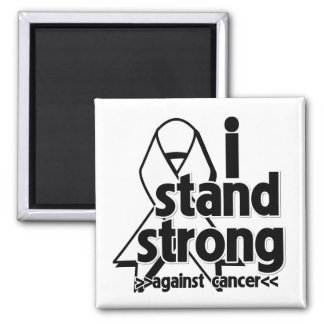 I Stand Strong Against Lung Cancer Magnets