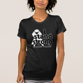 I Stand Strong Against Lung Cancer T-shirt