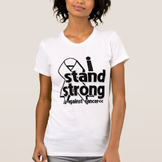 I Stand Strong Against Lung Cancer Tanktops