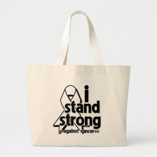 I Stand Strong Against Lung Cancer Tote Bag
