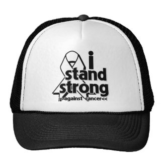 I Stand Strong Against Lung Cancer Trucker Hat