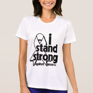 I Stand Strong Against Lung Cancer Tshirt