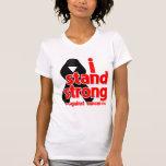 I Stand Strong Against Melanoma Cancer Tshirt