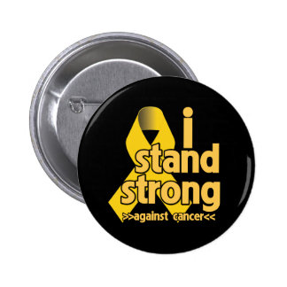 I Stand Strong Against Neuroblastoma 2 Inch Round Button
