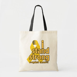 I Stand Strong Against Neuroblastoma Budget Tote Bag