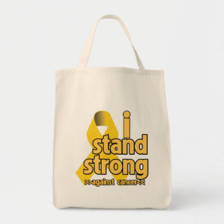 I Stand Strong Against Neuroblastoma Grocery Tote Bag
