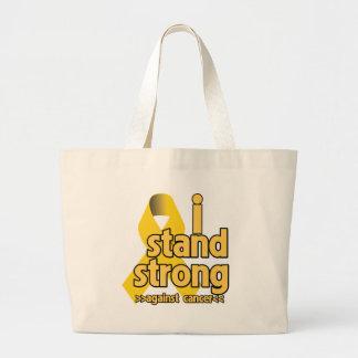 I Stand Strong Against Neuroblastoma Jumbo Tote Bag