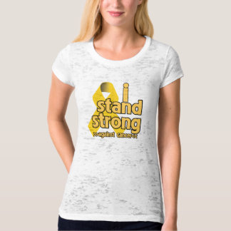 I Stand Strong Against Neuroblastoma T Shirt
