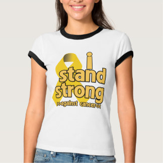 I Stand Strong Against Neuroblastoma T Shirts